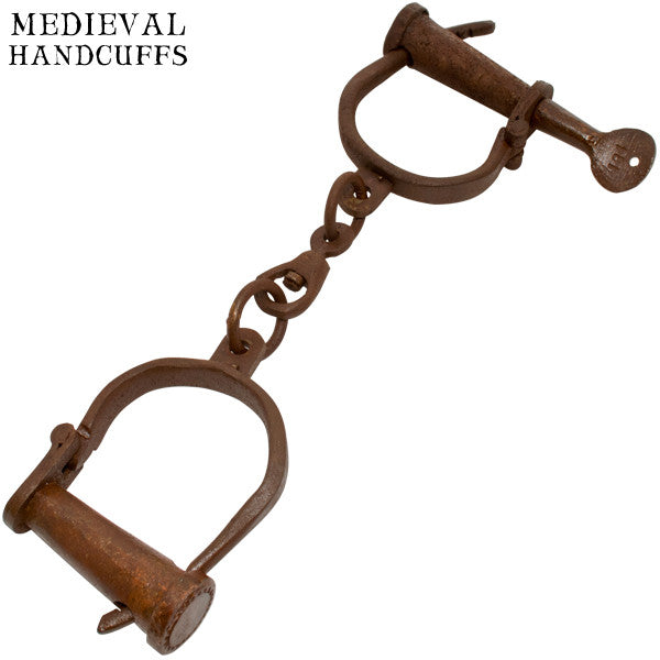 Rustic Olde Age Medieval Old West Handcuffs