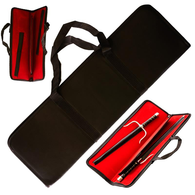 22 in Black Velvet Sai Carrying Case, , Panther Trading Company- Panther Wholesale