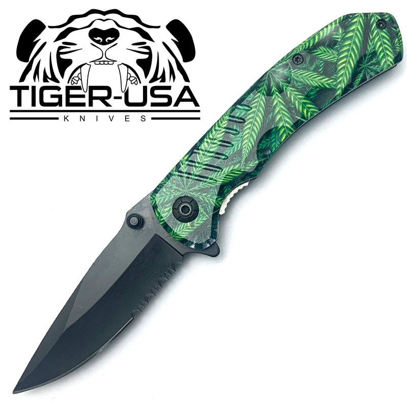 Tiger-USA Spring Assisted Knife - Mary J
