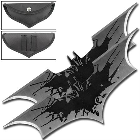 Fantasy Dark Bat Thrower Set Black Splash