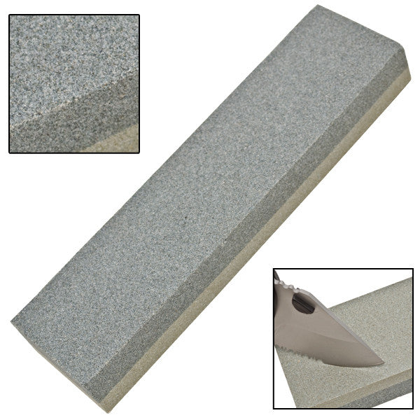 Combination Knife Sharpening Stone by Camco Tools