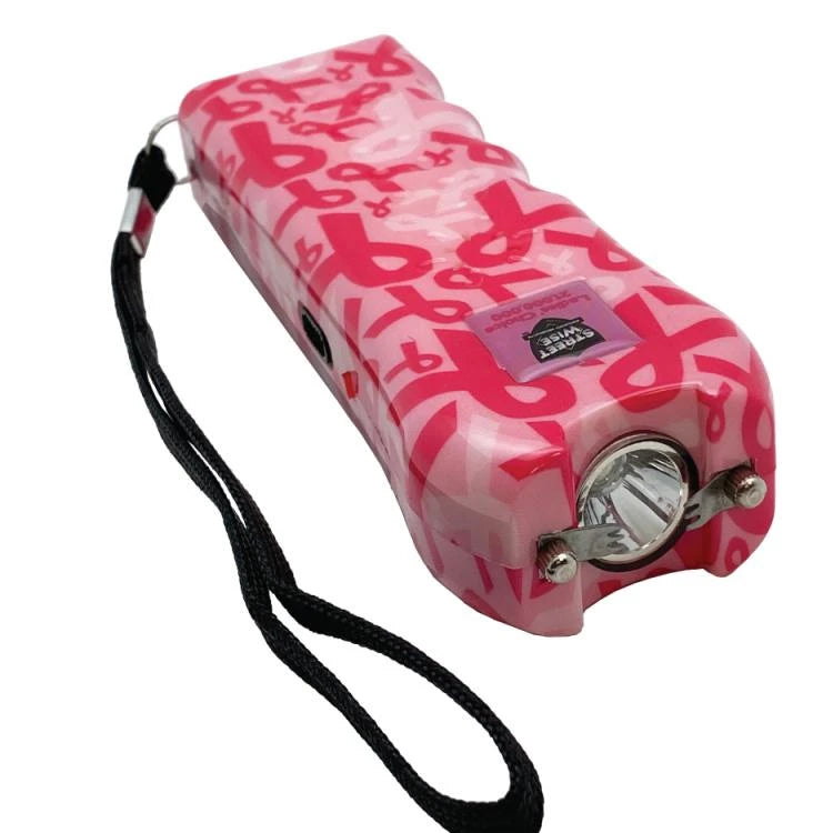 Streetwise™ Ladies' Choice Stun Gun Alarm Pink Ribbon 21M