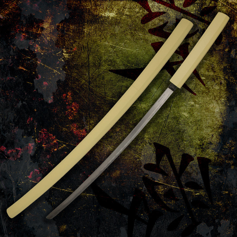 Samurai Katana Sword with Wooden Scabbard, , Panther Trading Company- Panther Wholesale