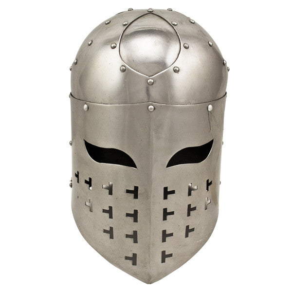 Spangenhelm Medieval Soldier's Helmet, , Panther Trading Company- Panther Wholesale