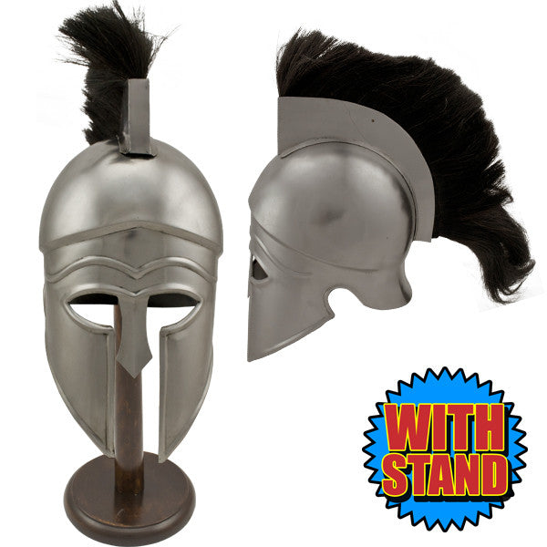 Corinthian Fire Collectible LARP Helmet W/ Stand