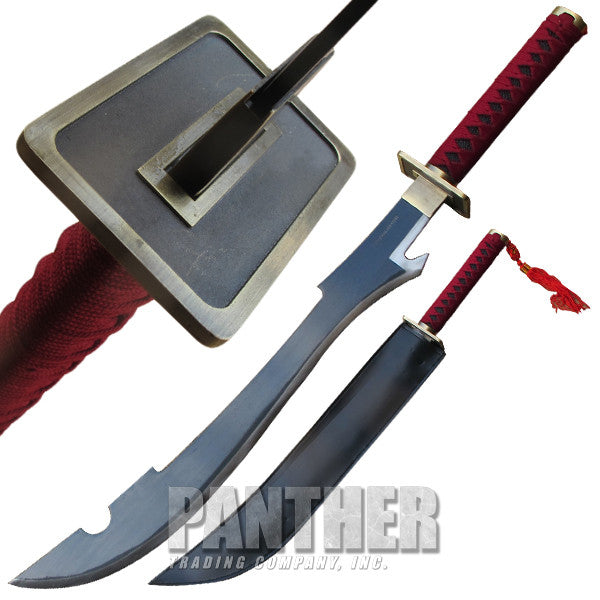 Super Samurai Sword with Shoulder Strap Sheath Included, , Panther Trading Company- Panther Wholesale