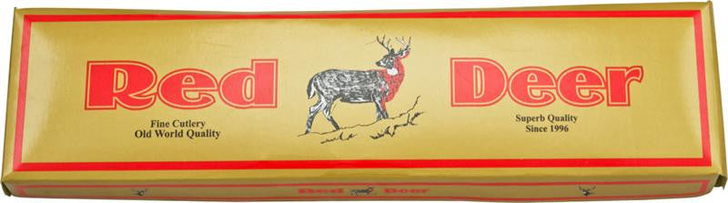 Red Deer Doe Valley Skinning Knife Red Pakka, , Panther Trading Company- Panther Wholesale