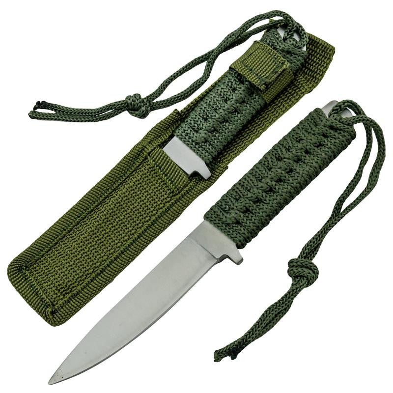 Survival Throwing Knife Dagger with Sheath