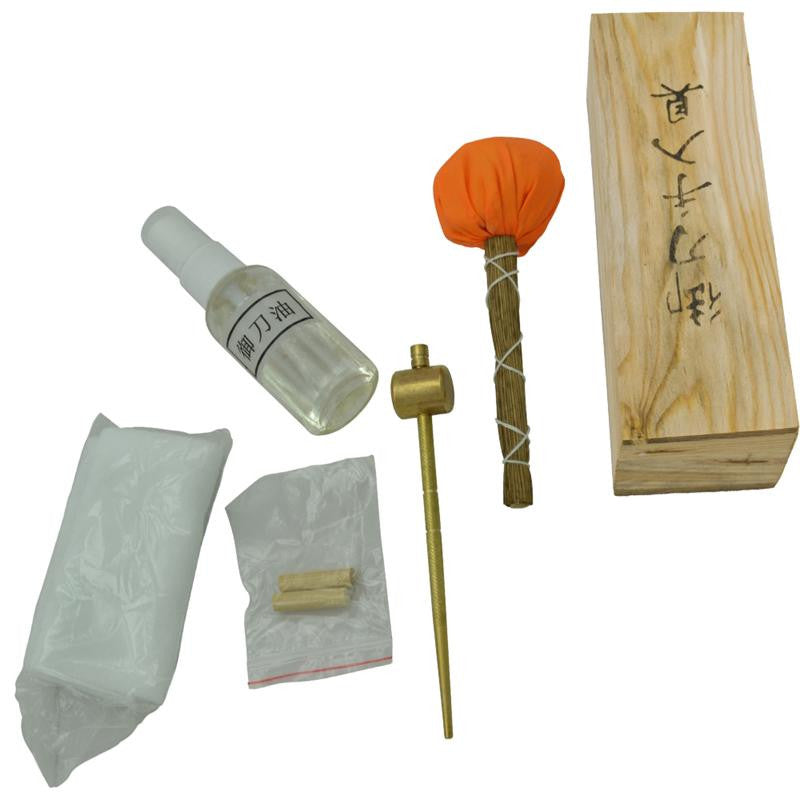 Japanese Essential Samurai Sword Cleaning Kit