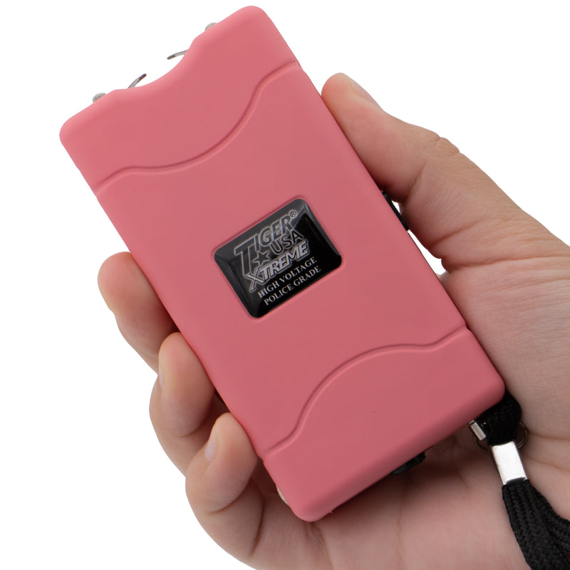 96 Mill Pink Rechargeable Stun Gun & Flash Light