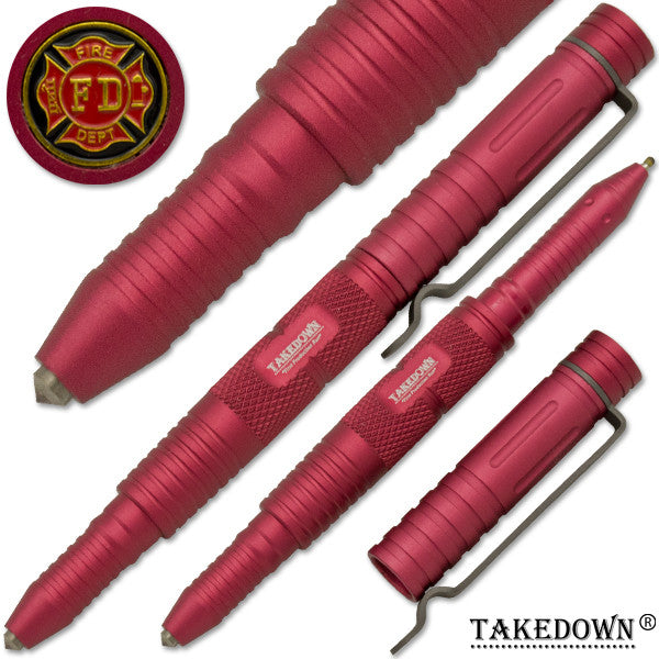 Fire-Fighter Tactical public safety Tool & Pen Tactical Pen, , Panther Trading Company- Panther Wholesale