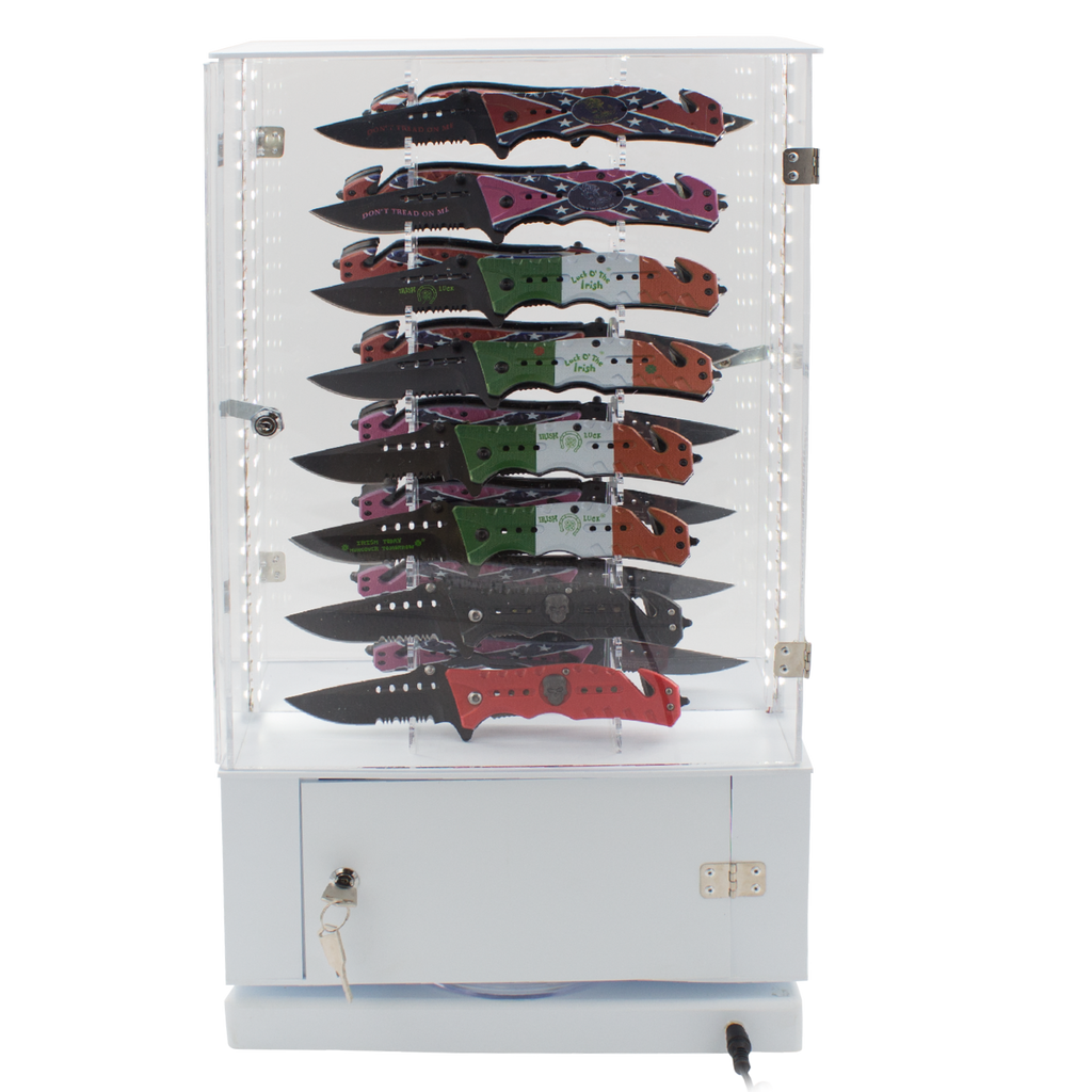 Tiger-USA Showcase Special Knives and Free Display Case Comes with 96 Knives, , Panther Wholesale- Panther Wholesale