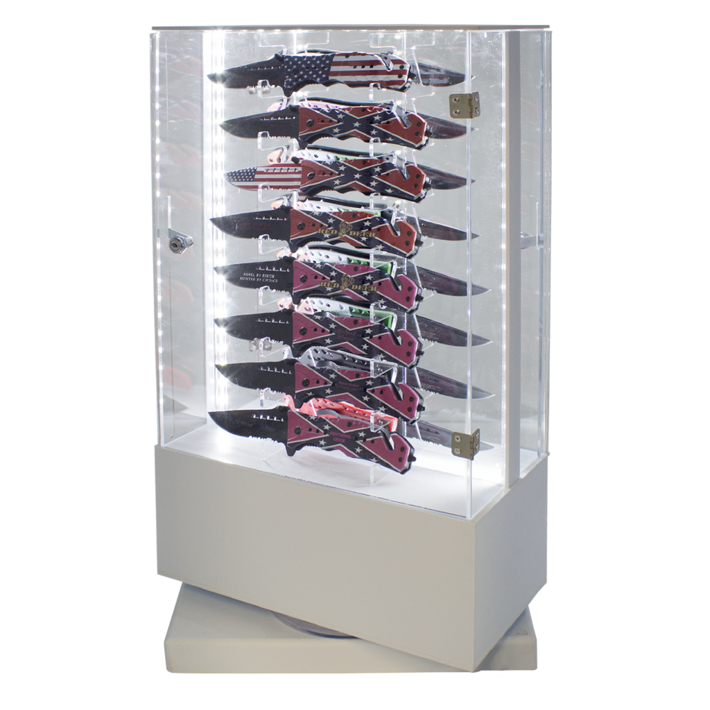 Tiger-USA Showcase Special Knives and Free Display Case