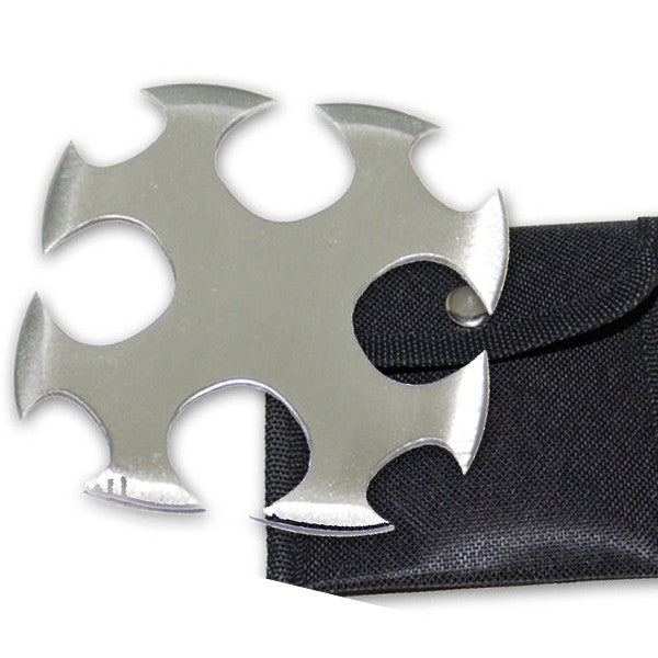 "3 Inch ""Dead Blood"" Ninja Throwing Star, , Panther Trading Company- Panther Wholesale"