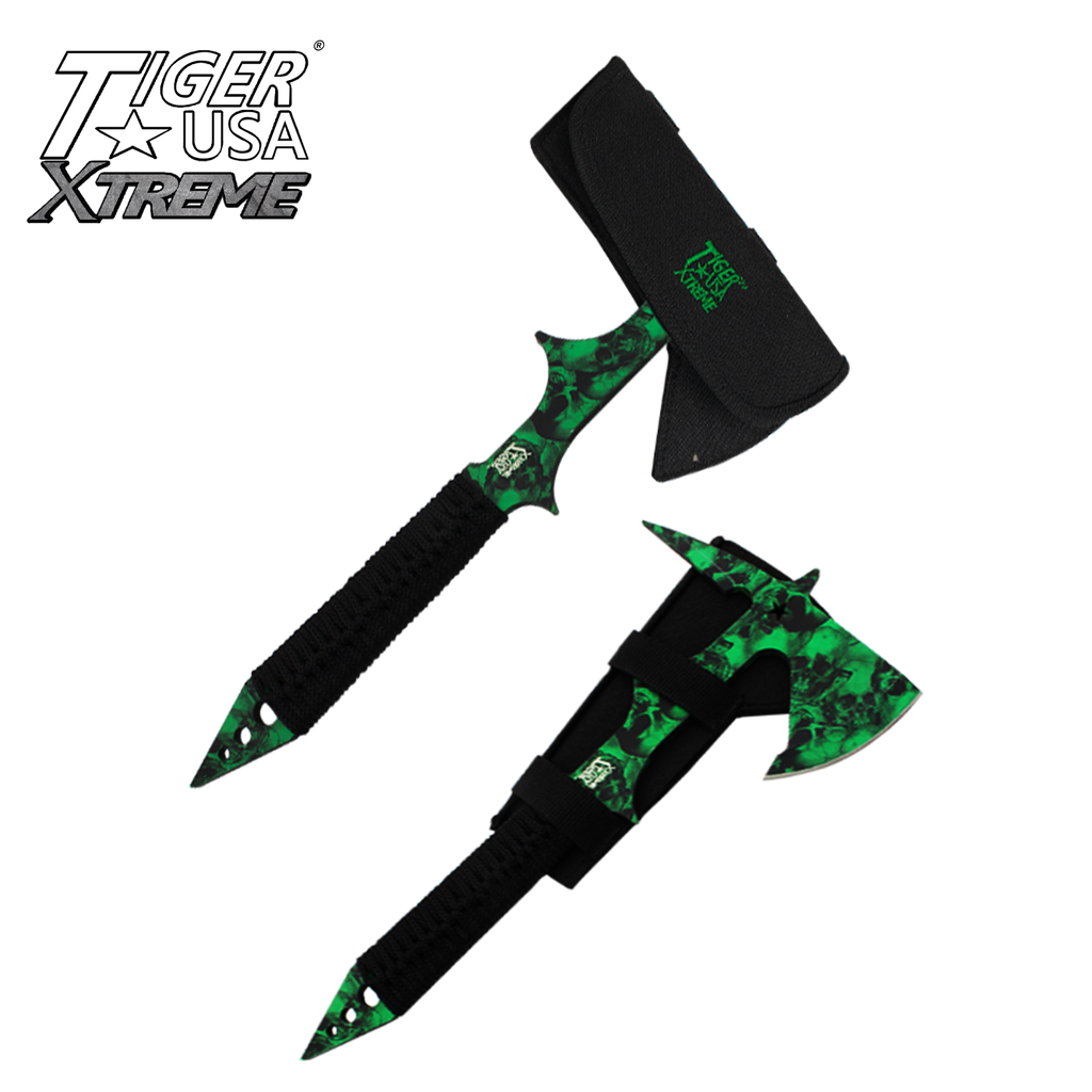 Gothic Throwing Tomahawk Tactical Outdoors Axe, , Panther Trading Company- Panther Wholesale