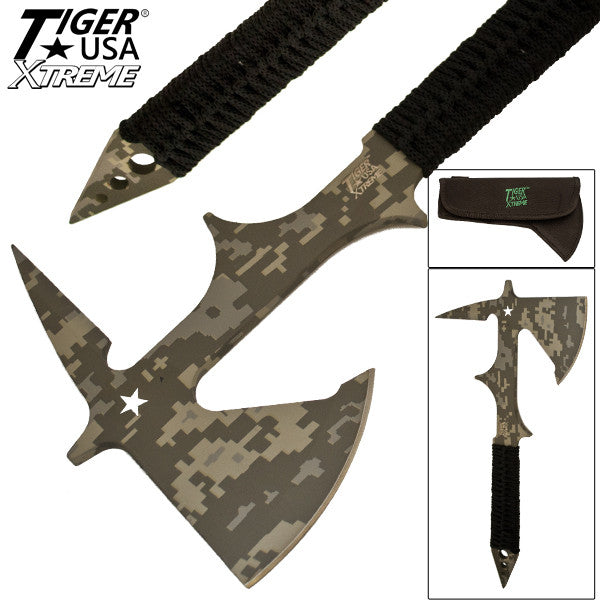 Heavy Duty Tiger-USA Tactical Tomahawk, , Panther Trading Company- Panther Wholesale