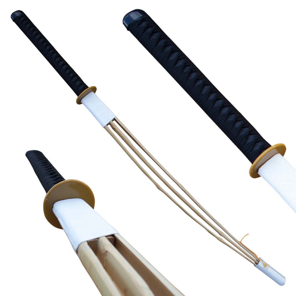 Shinai 3 Limb Bamboo Kendo 48 Inch Practice Sword, , Panther Trading Company- Panther Wholesale