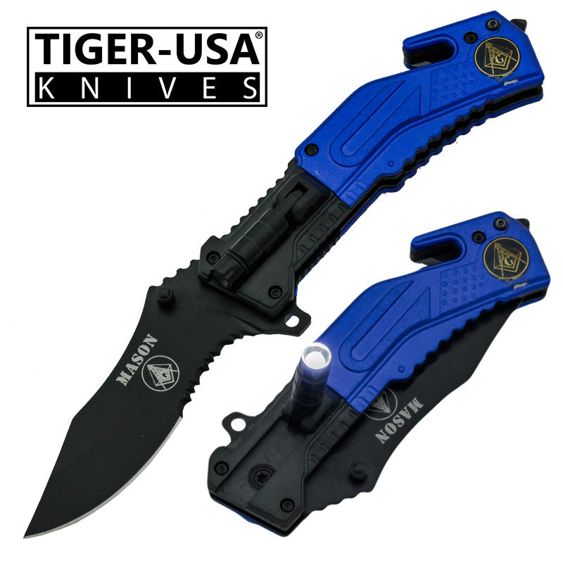 Tiger-USA Trigger Action Tactical Knife