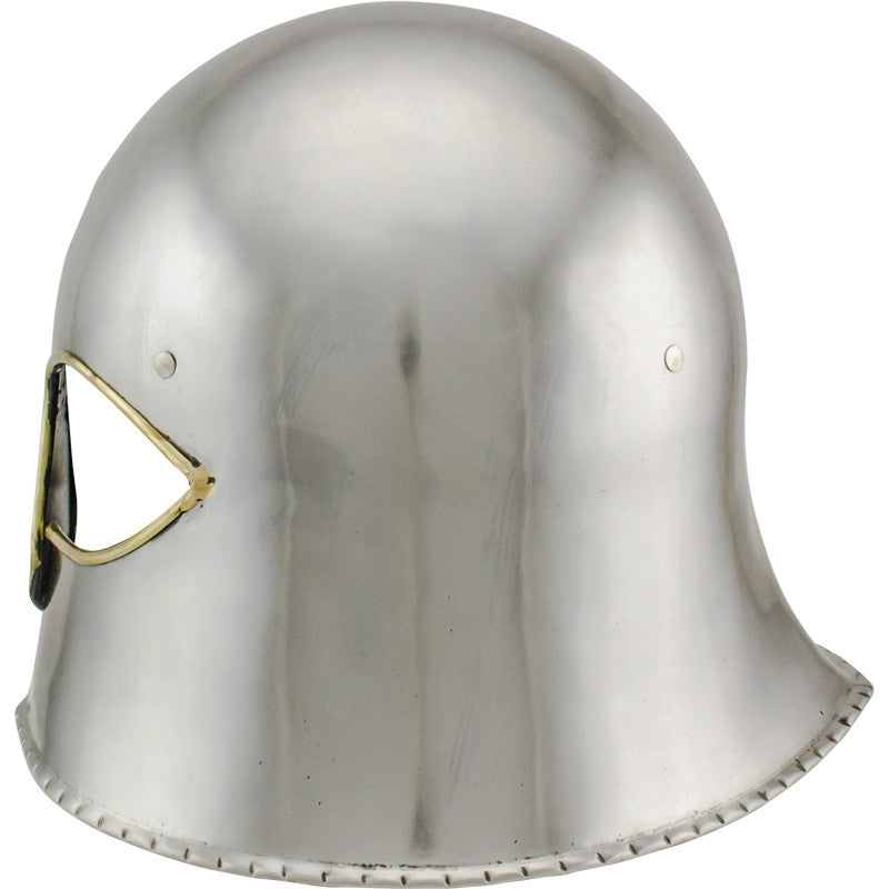 Viking Wolf Saxon Carbon Steel Helmet, , Panther Trading Company- Panther Wholesale