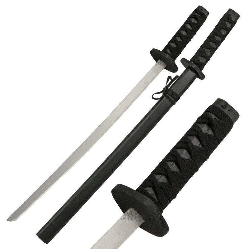 Wooden Practice Katana Sword with Scabbard