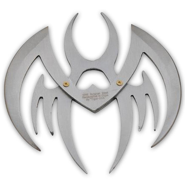 4 Inch Spider Shaped Throwing Star, , Panther Trading Company- Panther Wholesale