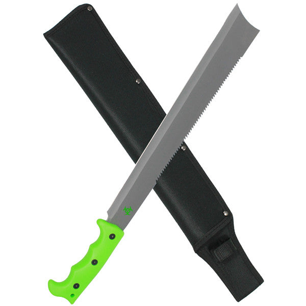 Undead Green Paracord Full Tang Machete, , Panther Trading Company- Panther Wholesale