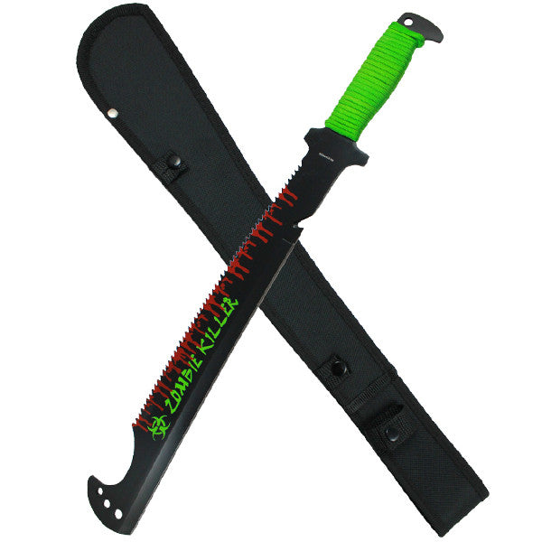 Blood Splatter Paracord Full Tang Machete, , Panther Trading Company- Panther Wholesale