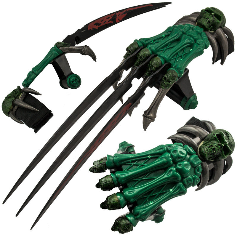 Z-Slayer Dagger Claw Three Blade Glove, , Panther Trading Company- Panther Wholesale