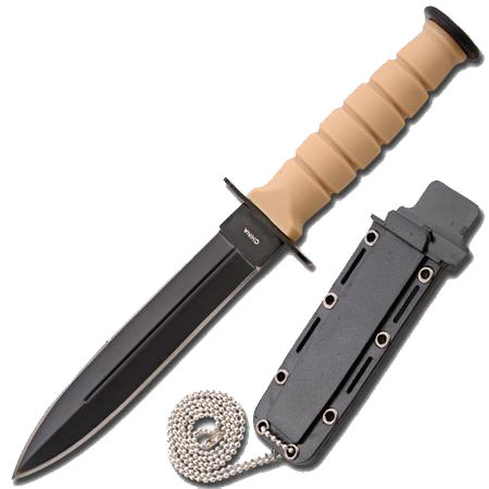Tactical Camping Neck Mini Dagger with Sheath, , Panther Trading Company- Panther Wholesale