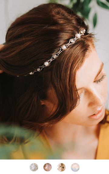 The Bea Hairband Hair Adornments Bekah Anne Accessories