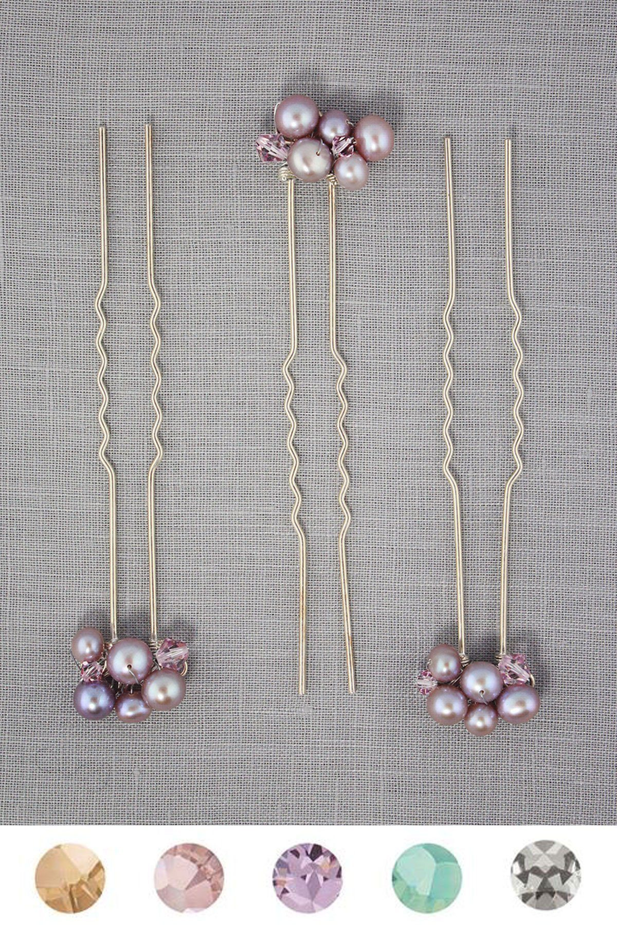 The Leah Pins hair adornments Bekah Anne Accessories