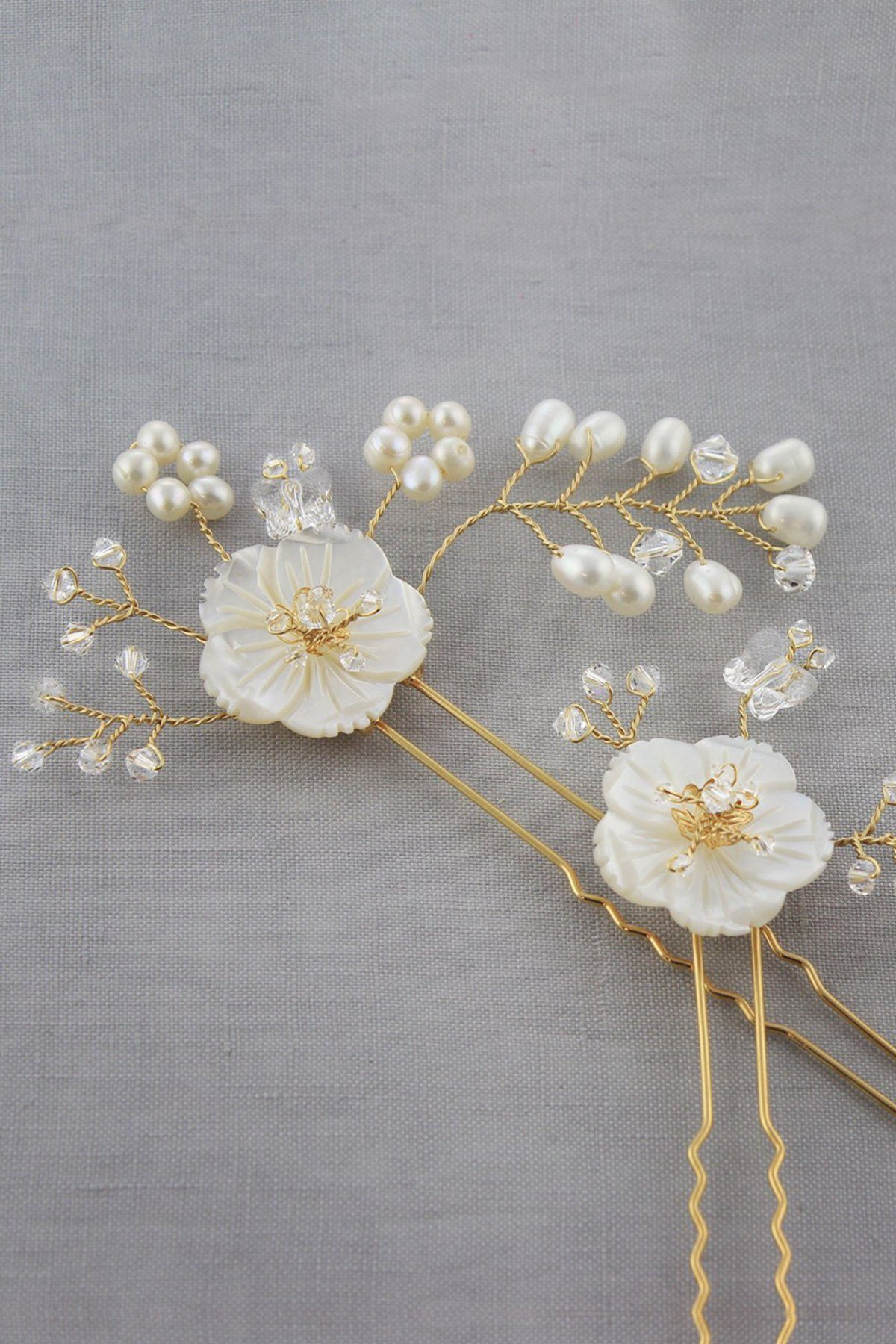Petite Daisy Pins Hair Adornments Bekah Anne Accessories
