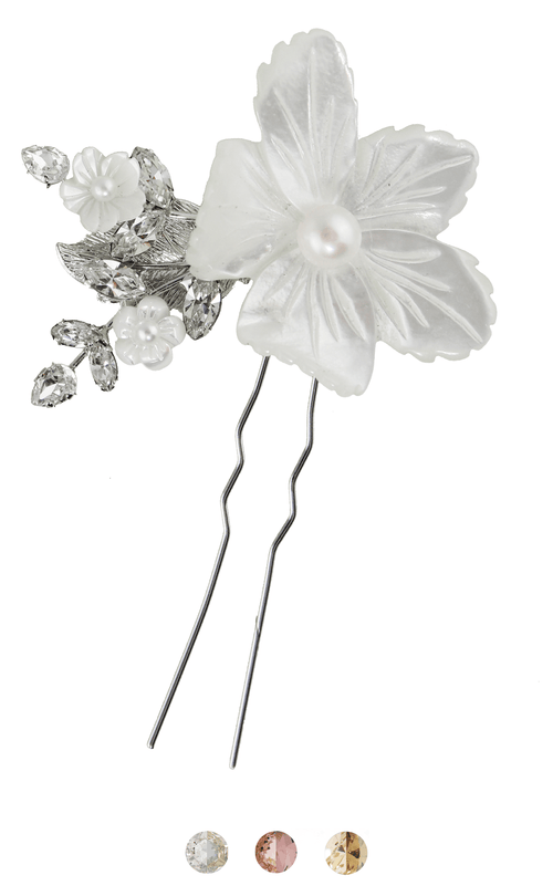 The Sakura Pin Hairpins Bekah Anne Accessories