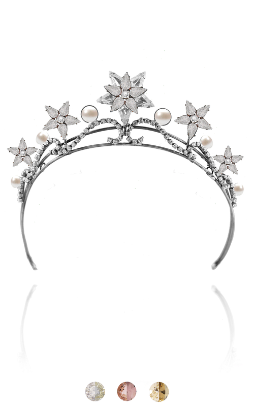 The Celeste Tiara Tiara Bekah Anne Accessories