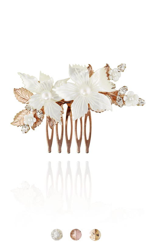 Dogwood Comb | WS Wholesale Hair Adornments Bekah Anne Accessories