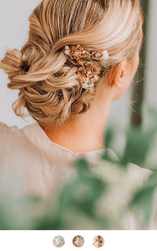 The Primrose Pin Hairpins Bekah Anne Accessories