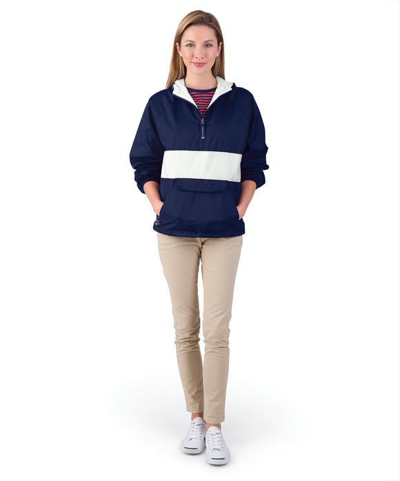 ADULT CLASSIC CHARLES RIVER STRIPED PULLOVER