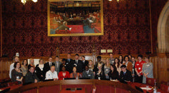 Kylie at the House of Commons