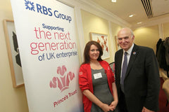 With the Secretary of State Vince Cable