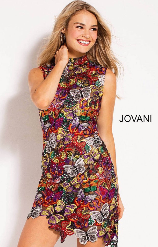 Jovani contemporary dress M52046