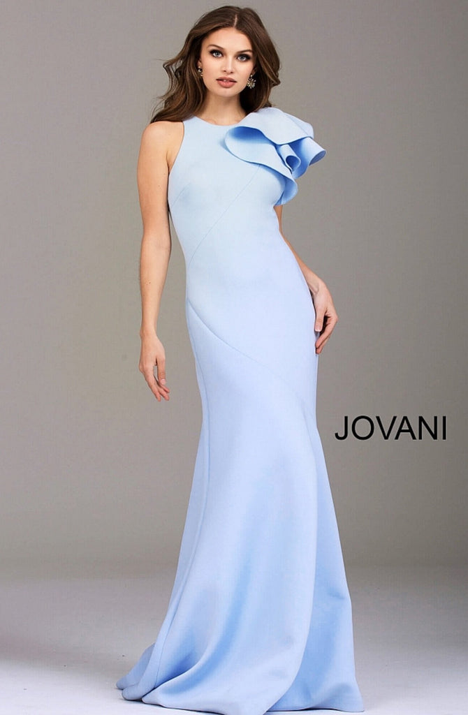Jovani evening dress 50479 in yellow
