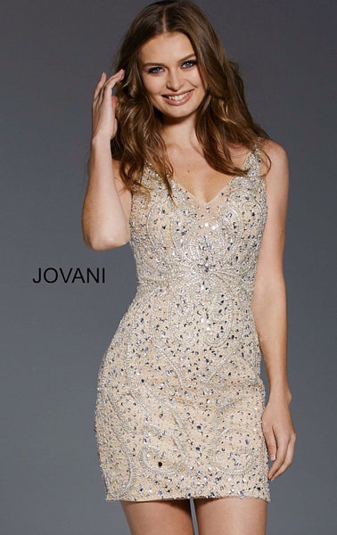 Jovani short dress 58025