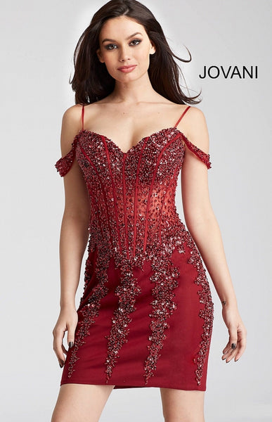 Jovani homecoming dress 55226