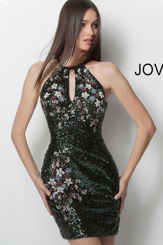 Jovani short homecoming dress 61892