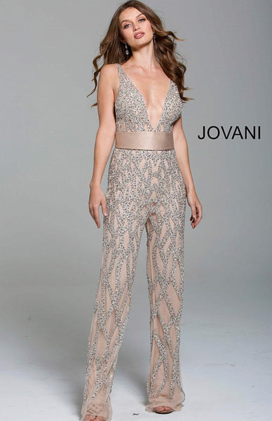 Jovani contemporary jumpsuit 61573