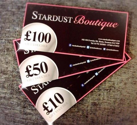 STARDUST GIFT CARD