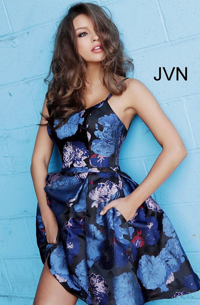 Short homecoming dress JVN63389 - jovani-dress