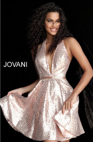 Short homecoming dress JVN62080 - jovani-dress
