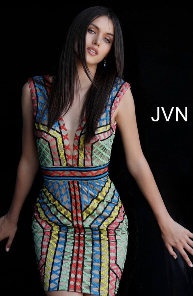 Short dress JVN65822