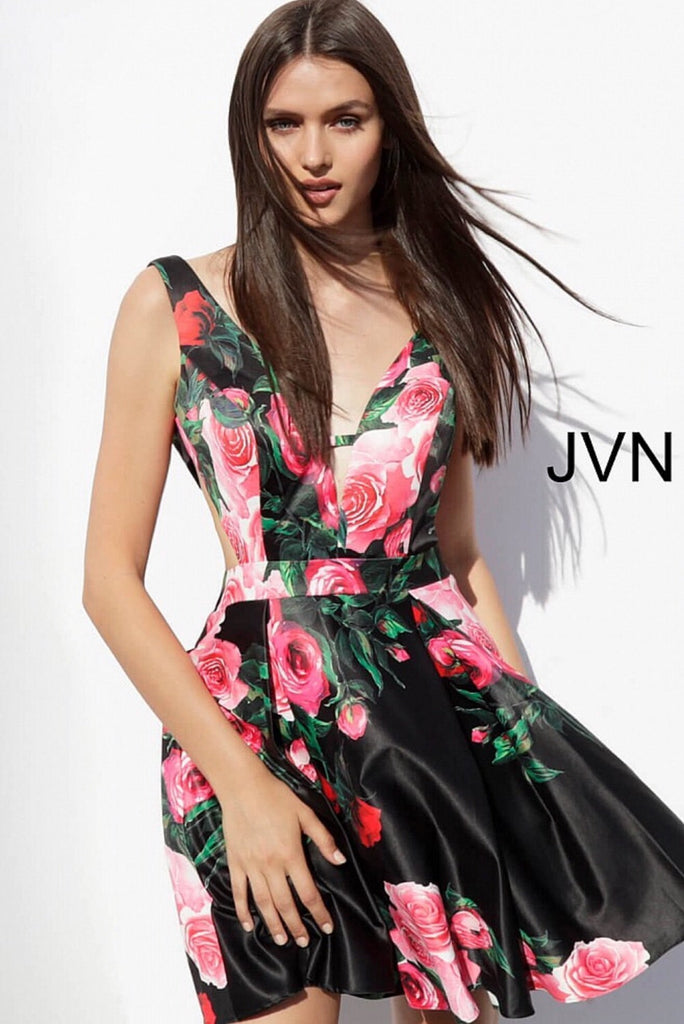 Short dress JVN65166 - jovani-dress